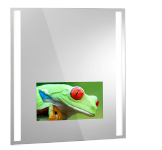 "Lighted Mirror TV Insert. 13.3"" TFT LED 18.5"" TFT LED 21.5"" TFT LED"